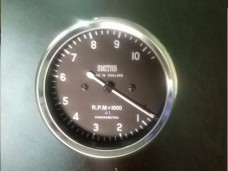 Smiths Tachometer 10,000 rpm 80 mm fitment M18x1.5 thread Replica 4:1